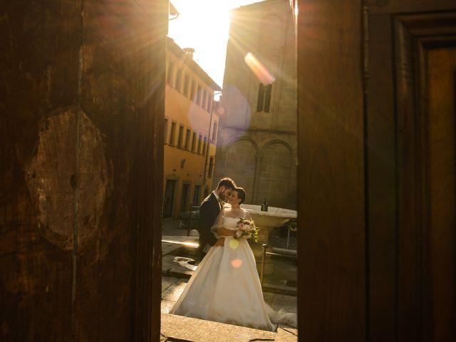 Il matrimonio di Fabio e Letizia a Arezzo, Arezzo 154