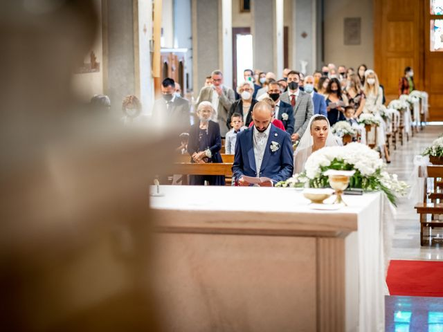 Il matrimonio di Matteo e Roberta a Filago, Bergamo 17