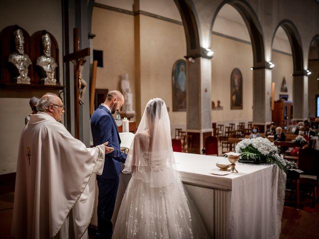 Il matrimonio di Matteo e Roberta a Filago, Bergamo 18