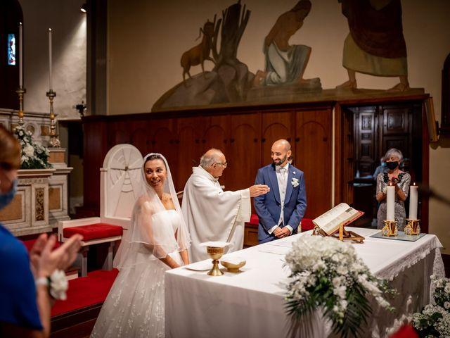 Il matrimonio di Matteo e Roberta a Filago, Bergamo 22