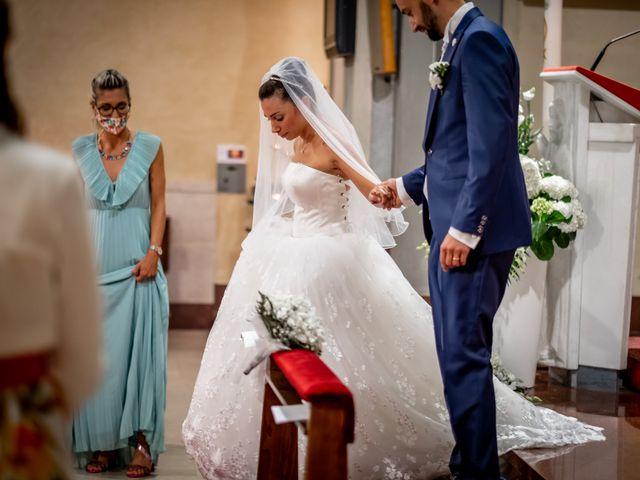 Il matrimonio di Matteo e Roberta a Filago, Bergamo 24