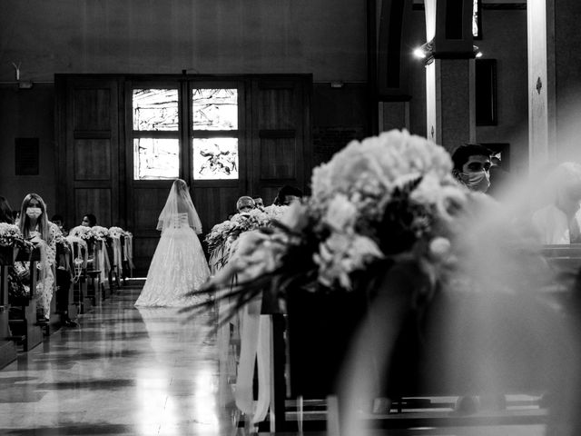 Il matrimonio di Matteo e Roberta a Filago, Bergamo 30
