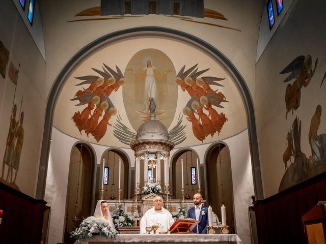 Il matrimonio di Matteo e Roberta a Filago, Bergamo 33