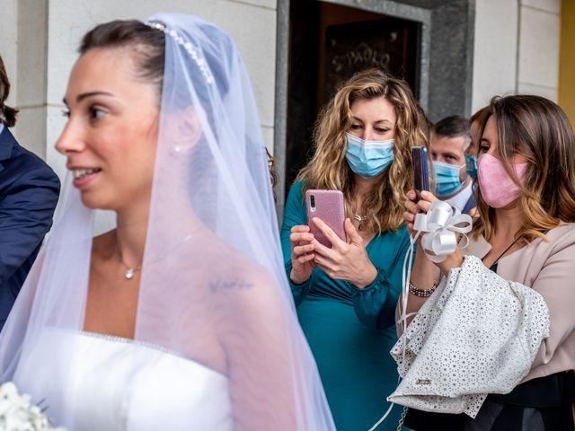 Il matrimonio di Matteo e Roberta a Filago, Bergamo 41