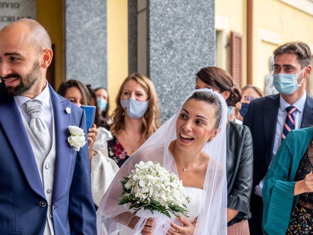 Il matrimonio di Matteo e Roberta a Filago, Bergamo 42