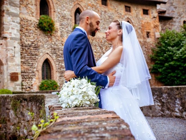 Il matrimonio di Matteo e Roberta a Filago, Bergamo 55