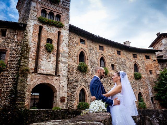 Il matrimonio di Matteo e Roberta a Filago, Bergamo 60