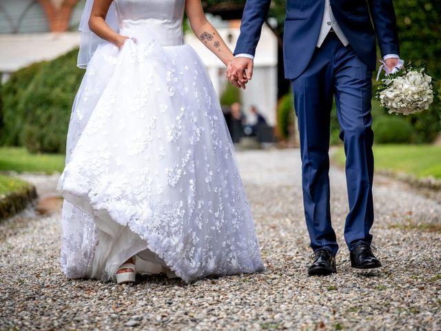 Il matrimonio di Matteo e Roberta a Filago, Bergamo 63