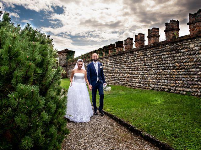 Il matrimonio di Matteo e Roberta a Filago, Bergamo 65