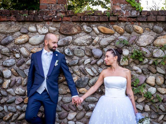 Il matrimonio di Matteo e Roberta a Filago, Bergamo 76