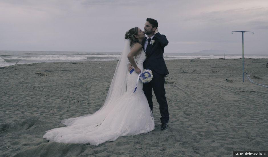 Il matrimonio di Giuliano e Silvia a Seravezza, Lucca