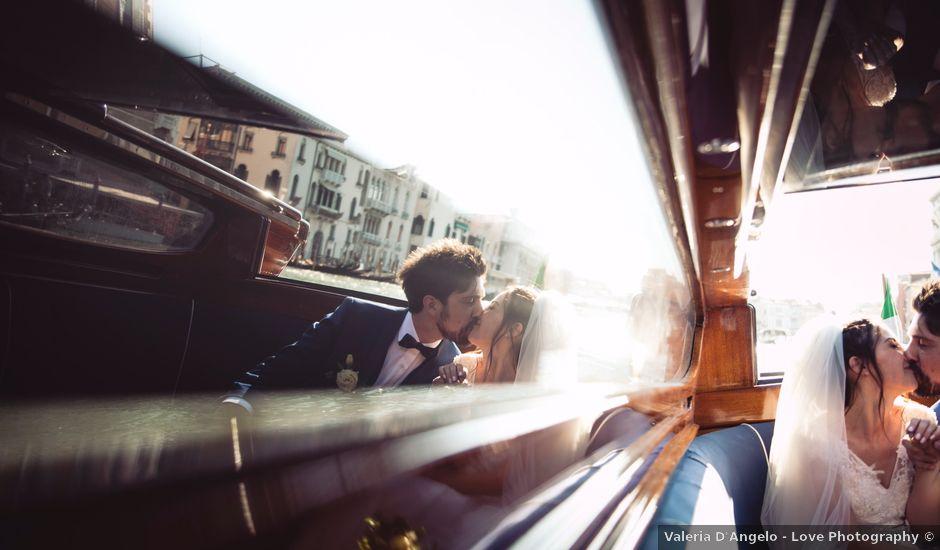 Il matrimonio di Enrico e Arianna a Venezia, Venezia