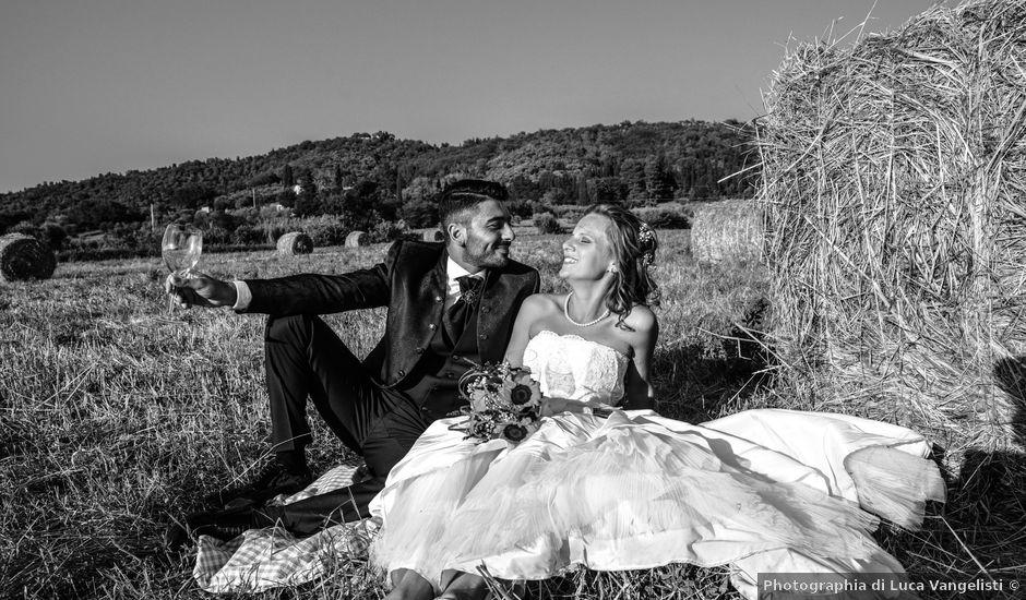 Il matrimonio di Francesco e Azzurra a Suvereto, Livorno