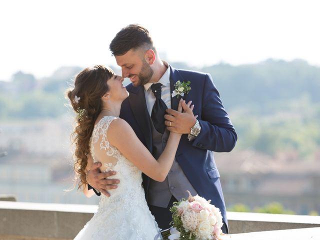 Le nozze di Serena e Cristian