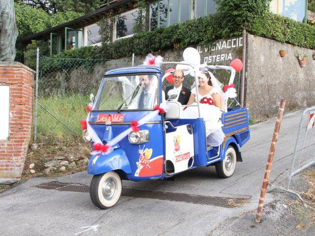 Il matrimonio di Luca e Valentina a Camaiore, Lucca 14