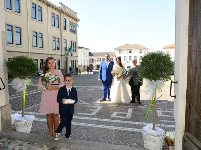 Il matrimonio di Emanuele e Elena a Cilavegna, Pavia 18