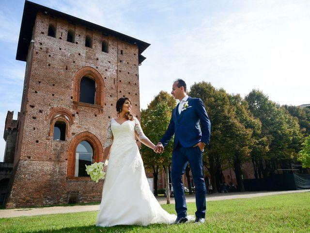 Il matrimonio di Emanuele e Elena a Cilavegna, Pavia 35