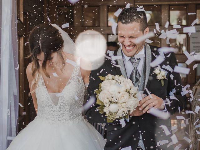 Il matrimonio di Marco e Valentina a Poggio Berni, Rimini 1