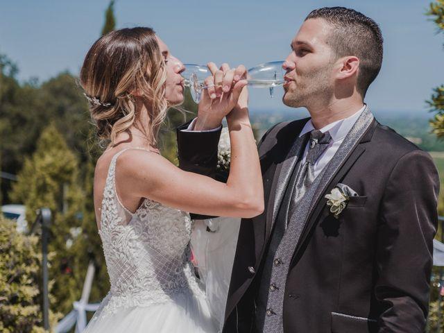 Il matrimonio di Marco e Valentina a Poggio Berni, Rimini 36