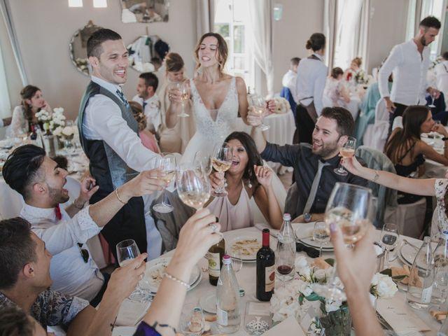 Il matrimonio di Marco e Valentina a Poggio Berni, Rimini 41