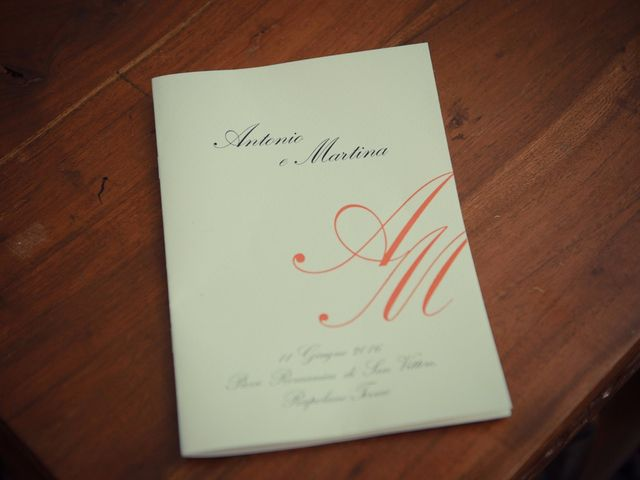 Il matrimonio di Antonio e Martina a Asciano, Siena 19