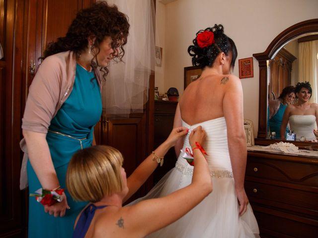 Il matrimonio di Antonio e Martina a Asciano, Siena 50