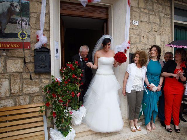 Il matrimonio di Antonio e Martina a Asciano, Siena 60