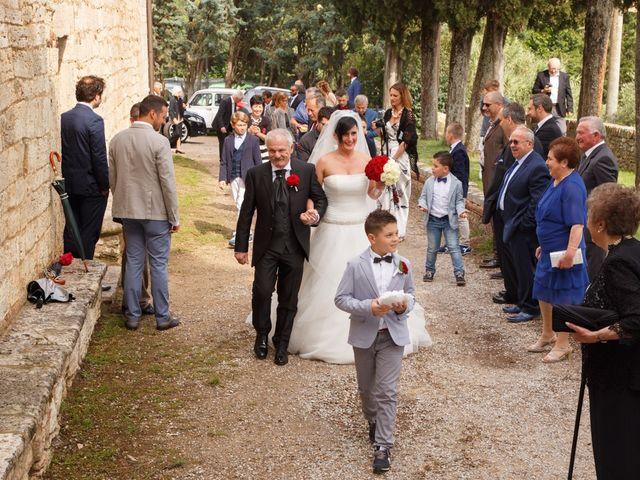 Il matrimonio di Antonio e Martina a Asciano, Siena 69