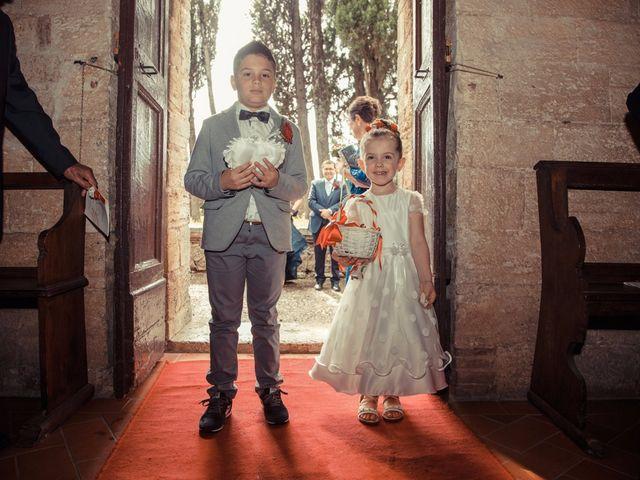 Il matrimonio di Antonio e Martina a Asciano, Siena 71