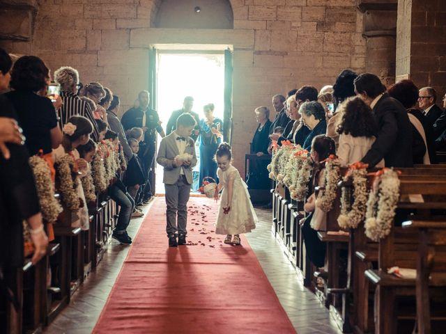 Il matrimonio di Antonio e Martina a Asciano, Siena 72