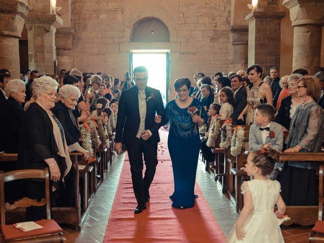 Il matrimonio di Antonio e Martina a Asciano, Siena 73