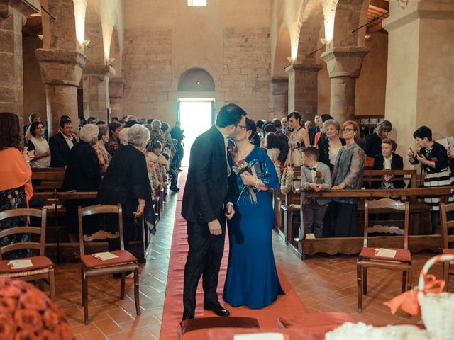 Il matrimonio di Antonio e Martina a Asciano, Siena 74