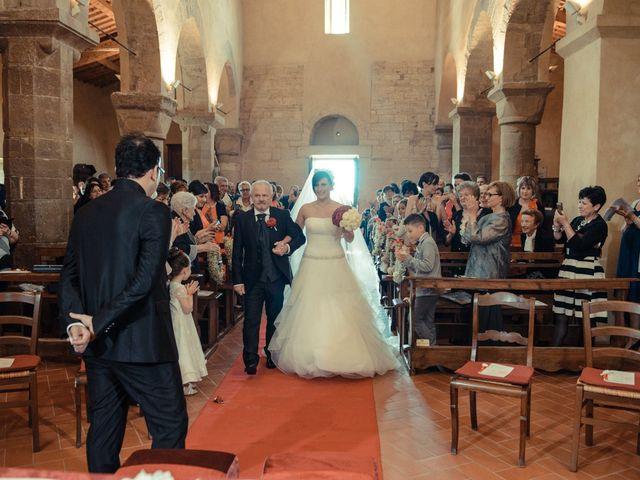 Il matrimonio di Antonio e Martina a Asciano, Siena 75