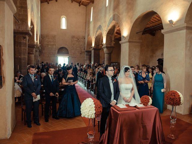 Il matrimonio di Antonio e Martina a Asciano, Siena 77