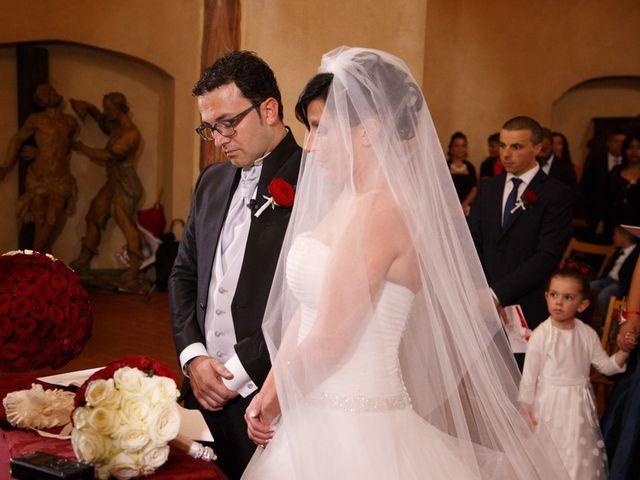 Il matrimonio di Antonio e Martina a Asciano, Siena 78