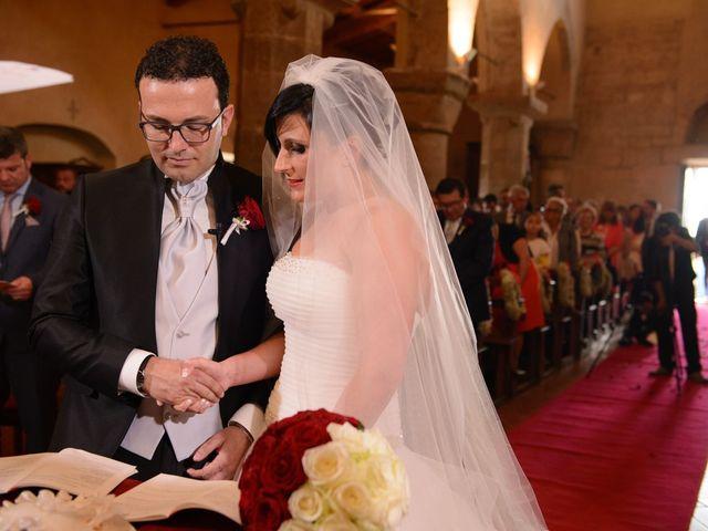 Il matrimonio di Antonio e Martina a Asciano, Siena 80