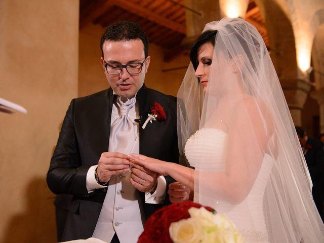 Il matrimonio di Antonio e Martina a Asciano, Siena 82