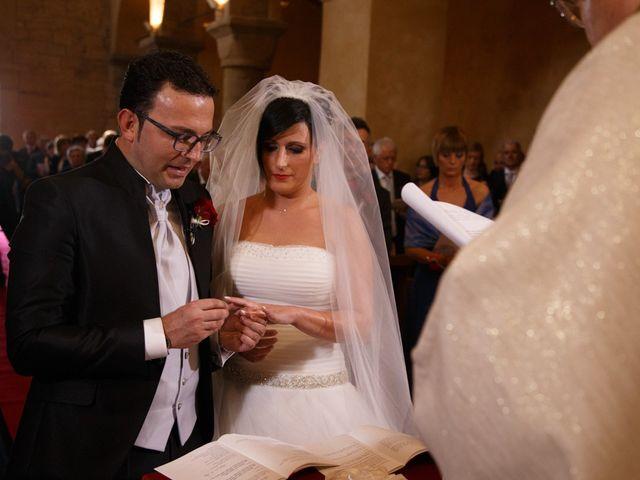 Il matrimonio di Antonio e Martina a Asciano, Siena 83
