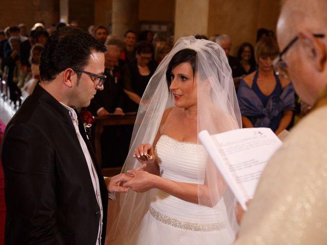 Il matrimonio di Antonio e Martina a Asciano, Siena 85