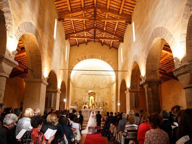 Il matrimonio di Antonio e Martina a Asciano, Siena 86