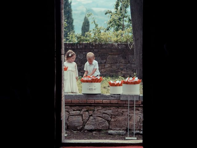 Il matrimonio di Antonio e Martina a Asciano, Siena 94