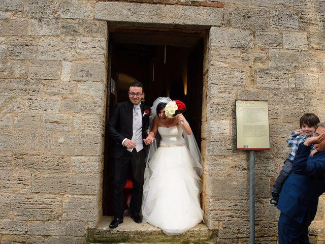 Il matrimonio di Antonio e Martina a Asciano, Siena 98