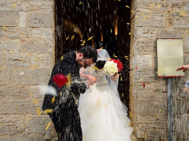 Il matrimonio di Antonio e Martina a Asciano, Siena 100