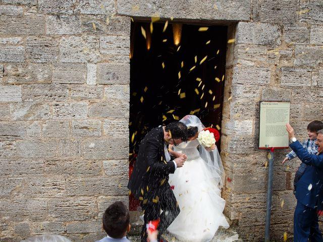 Il matrimonio di Antonio e Martina a Asciano, Siena 101