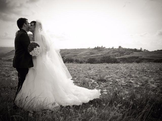 Il matrimonio di Antonio e Martina a Asciano, Siena 104