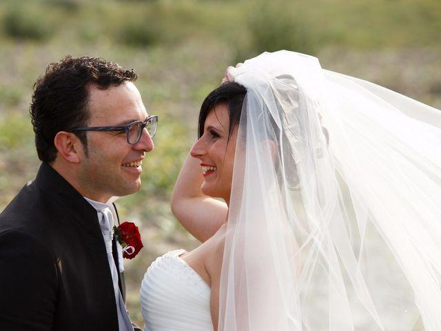 Il matrimonio di Antonio e Martina a Asciano, Siena 107