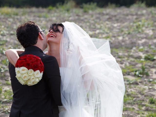 Il matrimonio di Antonio e Martina a Asciano, Siena 110