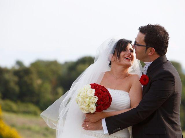 Il matrimonio di Antonio e Martina a Asciano, Siena 112