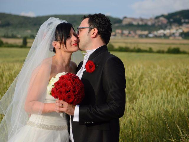 Il matrimonio di Antonio e Martina a Asciano, Siena 113
