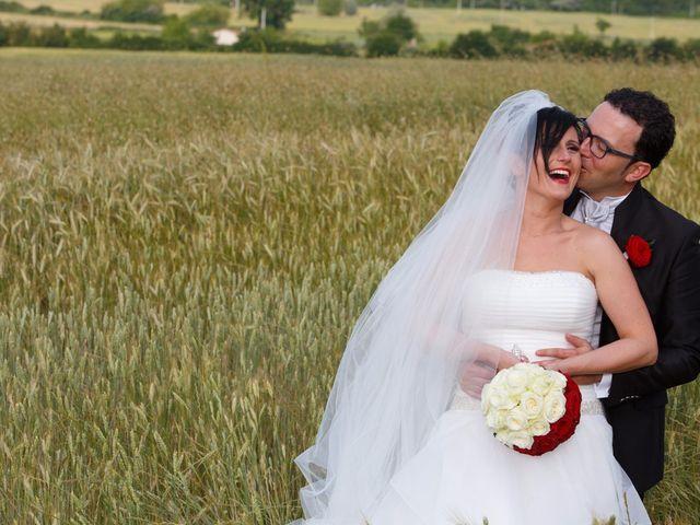 Il matrimonio di Antonio e Martina a Asciano, Siena 114